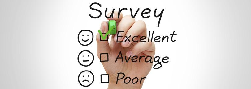 Survey options checklist.