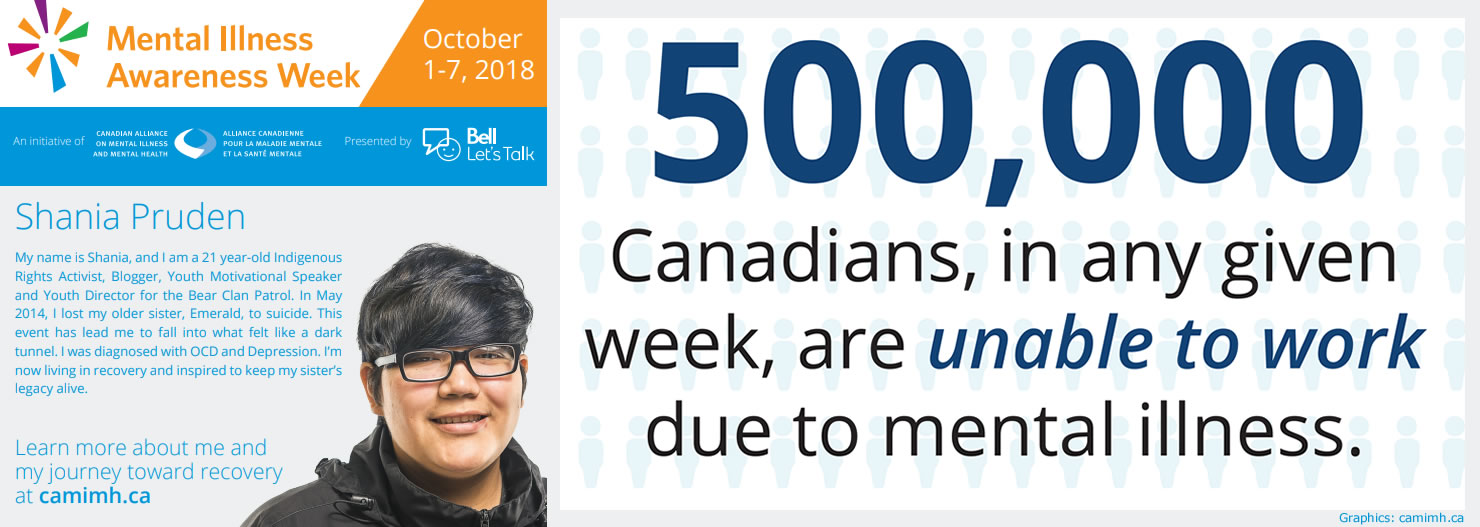 Mental Illness Awareness Week: Meet Shania Pruden