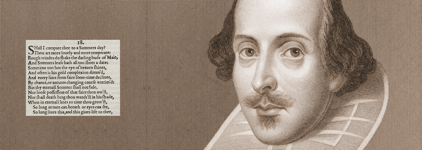 Shakespeare and one of most famous sonnets