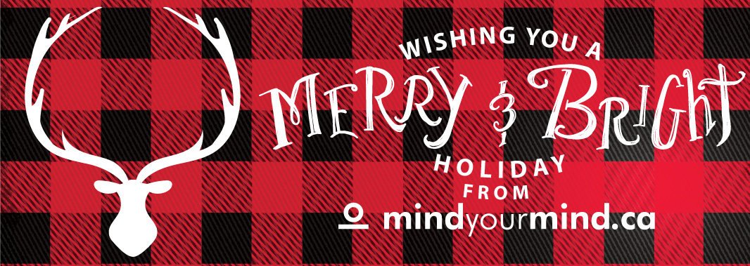 Happy Holidays from Everyone at mindyourmind!